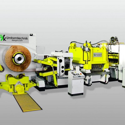 Cut-to-length machine handling copper