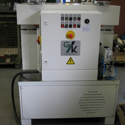 Straightening machine for punched parts