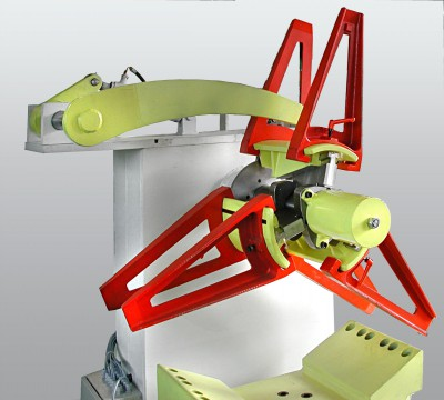 Heavy-duty coiler type PMS with hydraulic tension