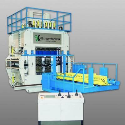Large scale straightening machine