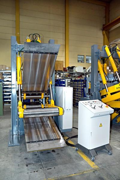 Coil straightening machine – Pre-straightening machine